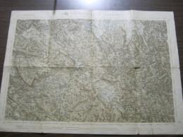 Z4 MAPPA TOPOGRAFICA ANTICA PRE 1915 ADELSBERG POSTOJNA POSTUMIA REGNO AUSTRO-UNGARICO - Carte Topografiche
