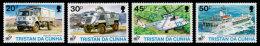 Tristan Da Cunha, 1995, United Nations 50th Anniversary, MNH, Michel 581-584 - Tristan Da Cunha