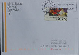 España 2005. ATM. Correo Aereo De Olot A Waldorf. - Machine Stamps (ATM)