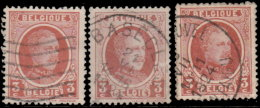 Belgique 1921. ~ YT 192 Par 3 - 3 C. Albert 1er