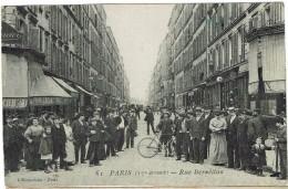 CPA - 75 - PARIS  XVII - Rue Berzélius - - Arrondissement: 17
