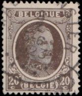 Belgique 1921. ~ YT 196 Par 7 - 20 C. Albert 1er