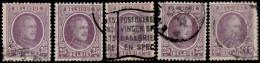 Belgique 1921. ~ YT 198 Par 5 - 25 C. Albert 1er