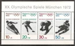 BRD (25/23) Olympische Spiele 1971/1972