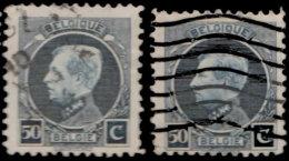 Belgique 1921. ~ YT 211 Par 2 - 50 C. Albert 1er