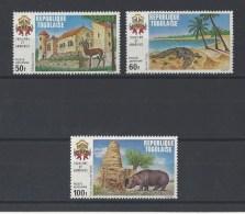 TOGO . YT  PA 158/160  Neuf **  Tourisme.Armoiries Et Vues  1971 - Togo (1960-...)