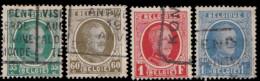 Belgique 1927. ~ YT 254 à 257 - Albert 1er