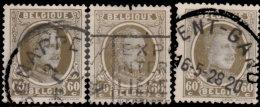 Belgique 1927. ~ YT 255 Par 3 - 60 C. Albert 1er