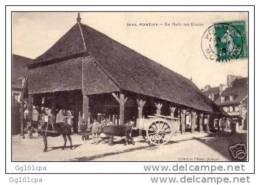 2642 - PONTIVY - La Halle Aux Grains (attelage Beau Plan, Animée) Coll Villard - Pontivy