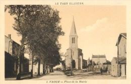 VAOUR PLACE DE LA MAIRIE 81 - Vaour
