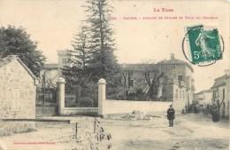 VAOUR AVENUE DE CAHORS TOUR DU CHATEAU 81 - Vaour