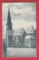 Mouscron - Grand´Place -Eglise Saint-Barthélémy ( Belle Animation ) -1906 ( Voir Verso ) - Moeskroen
