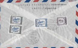 KABUL - GENF → By Airmail 1956 ►Mischfrankatur◄ - Afghanistan
