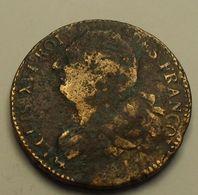 1791 - France - 2 SOLS FRANCOIS, LOUIS XVI, L'AN 3, (point Sur A), Gad 25 - 1789 – 1795 Monete Costituzionali