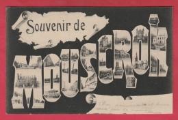 Mouscron - Souvenir De ... - Vues De La Ville Dans Les Lettres - 1905  ( Voir Verso ) - Moeskroen
