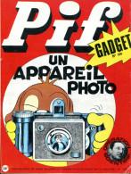 Pif Gadget N°166 - Rahan - Loup-Noir - Pif Gadget