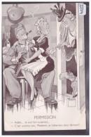 ARMEE SUISSE - HUMOUR PAR MINOUVIS - OCCUPATION DES FRONTIERES 1939 - B ( PLI D'ANGLE ) - Other
