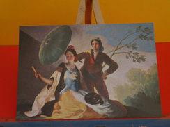 CP > Arts > Peintures & Tableaux > Goya > El Quitasol - Musée Del Prado-Non Circulé 1984 - Peintures & Tableaux