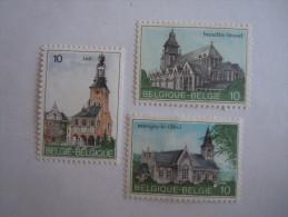 België Belgique Belgium 1984 Toerisme Kerken Tourisme églises Yv Cob  2138-2140 MNH ** - Belgique