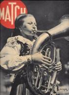 """""""MATCH"""" N°59 Aout 1939- """"la Pologne...champ De Bataille De L'Europe?""""-BE - Newspapers"""