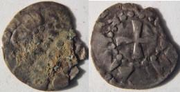 Bourgogne Nièvre Nivernais Nevers Denier Immobilisé Au Nom De Louis IV D´outremer - 476-1789 Monnaies Seigneuriales