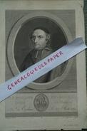 87 - LIMOGES- 31- TOULOUSE - RARE GRAVURE PHILIPPE DU BOURG-EVEQUE DE LIMOGES- NE A TOULOUSE LE 23 AOUT 1751- DE CROSSAS - Prints & Engravings