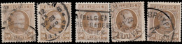 Belgique 1921. ~ YT 203 Par 5 - 50 C. Albert 1er