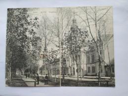 Serbia APATIN-Hauptstrasse -Foutca , Size 22,50x16,50mm - Serbia