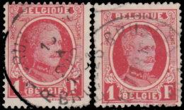 Belgique 1927. ~ YT 256 Par 2 - 1 F. Albert 1er