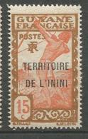 ININI  N° 6  NEUF* *  LUXE SANS CHARNIERE  / MNH - Inini (1932-1947)