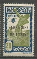 ININI  N° 7 GOM COLONIALE NEUF* *   SANS CHARNIERE  / MNH - Inini (1932-1947)
