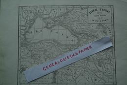 GUERRE D' ORIENT - ASIE-MER NOIRE-RUSSIE-TURQUIE-ARMENIE -CARTE PUBLIEE PAR 20 DECEMBRE-IMPRIMERIE ARDILLIER LIMOGES - - Prints & Engravings