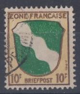 Fr. Zone Minr.5 Gestempelt - Französische Zone