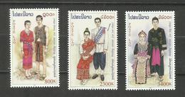 Laos N°1399 à 1401 Neufs** Cote 10 Euros - Laos