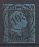 Preussen Minr.3 Gestempelt Nr.-St.103 Berlin - Preussen