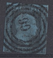 Preussen Minr.3 Gestempelt Nr.-St.907 Magdeburg - Preussen