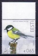 Estland 'Vogel Des Jahres - Kohlmeise' / Estonia 'Bird Of The Year - Great Tit' **/MNH 2016