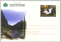 Polen GS 'Pieninen-Nationalpark, Apollofalter' / Poland P.c. 'Pieniny National Park, Mountain Apollo' **/MNH 2003 - Umweltschutz Und Klima