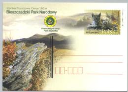 Polen GS 'Bieszczady-Nationalpark, Luchs' / Poland P.c. 'Bieszczady National Park, Lynx' **/MNH 2001 - Umweltschutz Und Klima