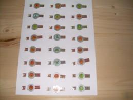 Sigarenbanden Mercator Serie Schotse Clans 24 St - Bagues De Cigares
