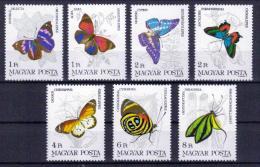 Ungarn 'Schmetterlinge' / Hungary 'Butterflies' **/MNH 1984 - Schmetterlinge