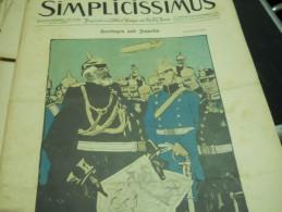 30 MAI    -  SIMPICISSIMUS  1910 - Riviste & Giornali