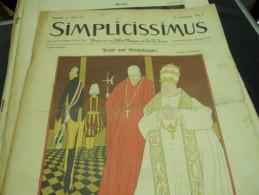 11 APRIL    -  SIMPICISSIMUS  -1910 - Riviste & Giornali
