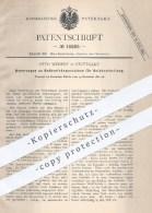 Original Patent - O. Weisert , Stuttgart 1881 , Nuthenfräsmaschinen Zur Holzbearbeitung | Holz , Fräsmaschinen , Fräsen - Historische Dokumente