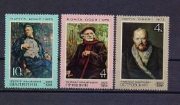 STAMP USSR RUSSIA Mint (**) 1973 Set Art Painting Singer Shalyapin Opera Literature Writer Prishvin Ostrovsky - Neufs