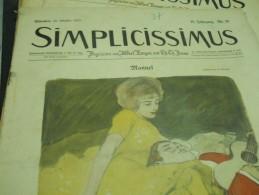 24 OCTOBER   -  SIMPICISSIMUS  -1910 - Riviste & Giornali