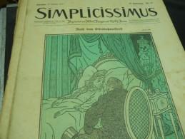 31 OCTOBER   -  SIMPICISSIMUS N -1910 - Riviste & Giornali