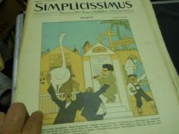 8 AUGUFT  -  SIMPICISSIMUS -1910 - Riviste & Giornali