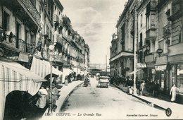 FRANCE - Dieppe La Grand Rue - Good Animation Etc 1917 - Dieppe