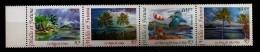 Wallis & Futuna 2002 N° 578 / 81 ** Paysage, Bateau De Pêche, Manche à Vent, Martin-pêcheur, Oiseau, Cocotier, Plage - Wallis Und Futuna